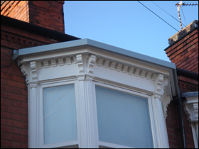 fibreglass bay window