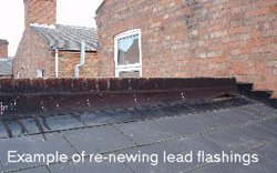 lead flashing after