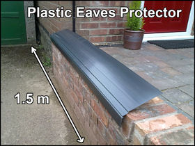 plastic eaves protectors